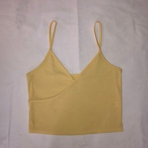 PacSun Yellow Crop Top